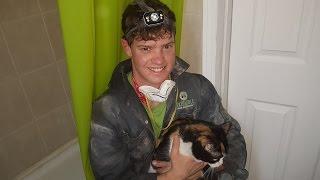 Simon and Joseph Rescue a Cat