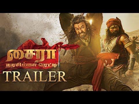 Sye Raa Narasimha Reddy Tamil Trailer