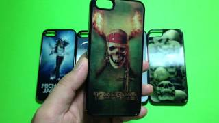 iphone 5 3D Visual Effect phone case skull hell Pirates of the Caribbean