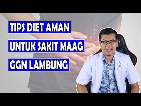 TIPS DIET SUKSES BAGI PENDERITA MAAG / GANGGUAN LAMBUNG