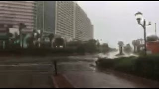 Hurriccane Michael intercept Panama City Beach Florida