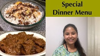 Guest Special Dinner Menu || কষা মাংসের Recipe || Bengali Mutton Kosha