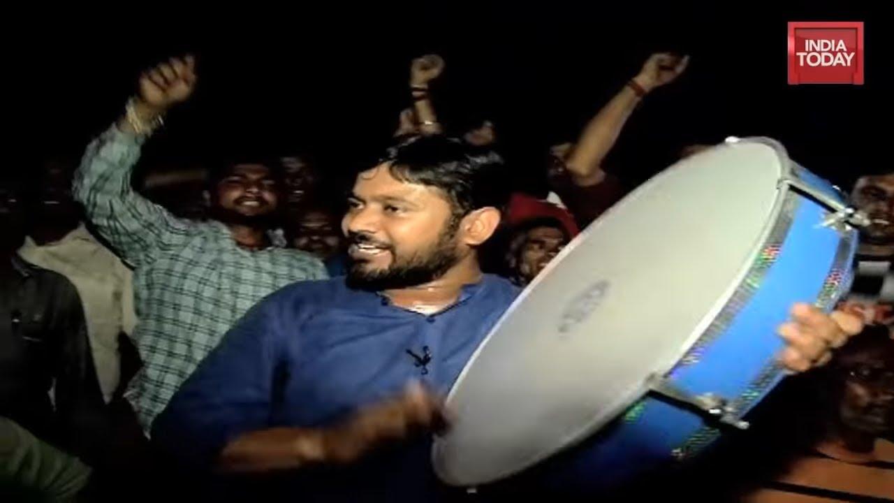 Kanhaiya Sings Azadi In Begusarai; Speaks About Azadi Anthem & Being Called As 'Tukde-Tukde