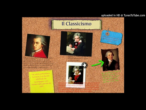 Le stagioni della musica: Il Classicismo (WR6 9.4.2013)