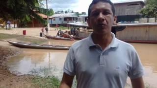 Prefeito Isaac fala das Enchentes em Marechal Thaumaturgo- AC