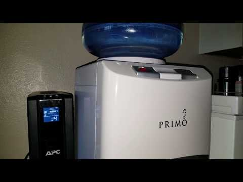 BEGINNERS GUIDE TO USING A BATTERY BACKUP UPS | Primo Water Dispenser, Hot Water Load Test?