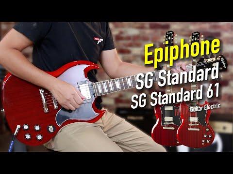 โมเดล 2020!! Epiphone SG Standard VS. Standard 61