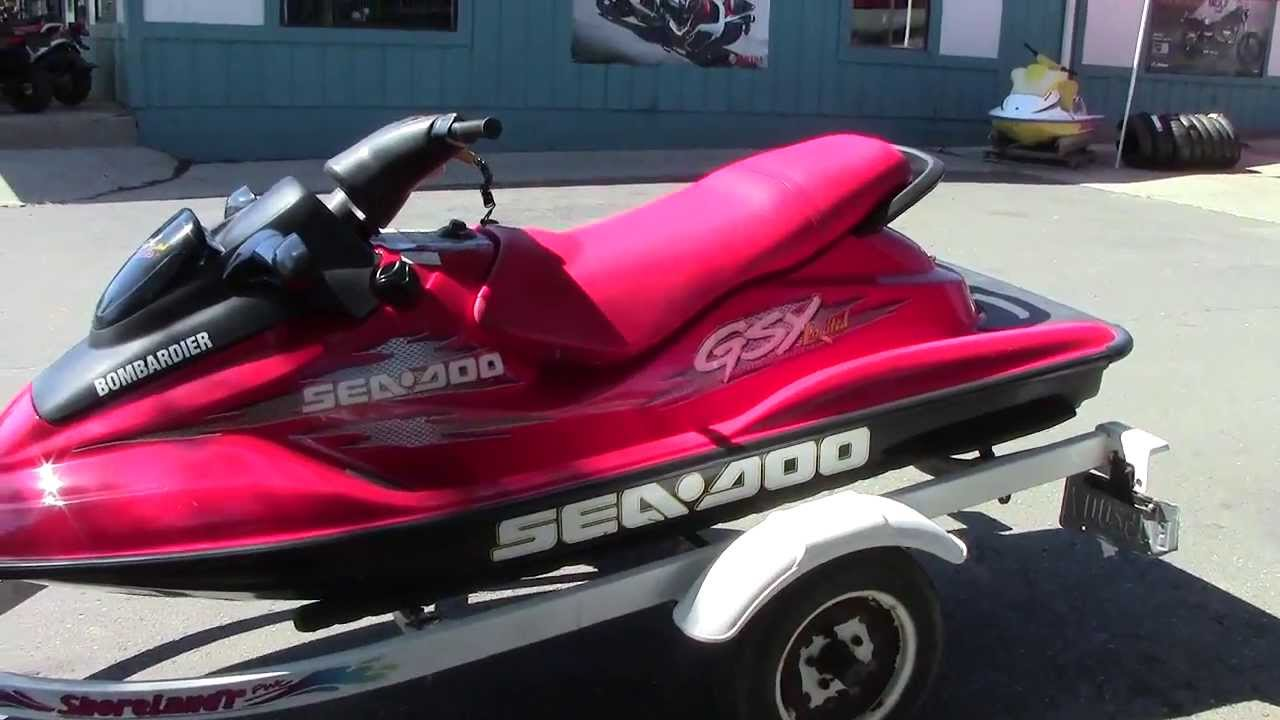 1999 Sea Doo GSX Limited 951cc CC Sports Brighton MI