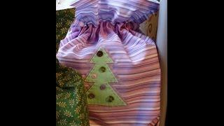 Делаем вместе тканевый подарочный мешок(, 2014-12-17T22:07:50.000Z)