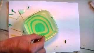 покраска воблера методом swirl