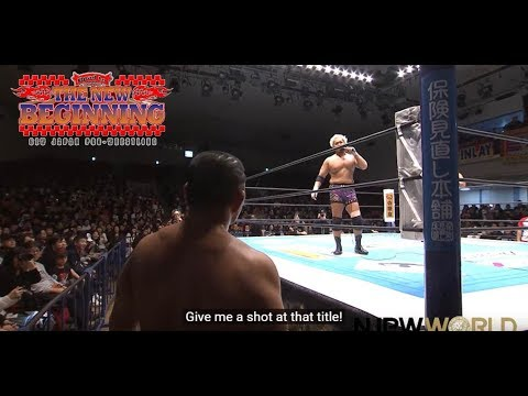 Togi Makabe challenges Minoru Suzuki for the IWGP IC title : Post match highlight [English subs]