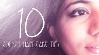 10 Golden Hair care tips Thumbnail