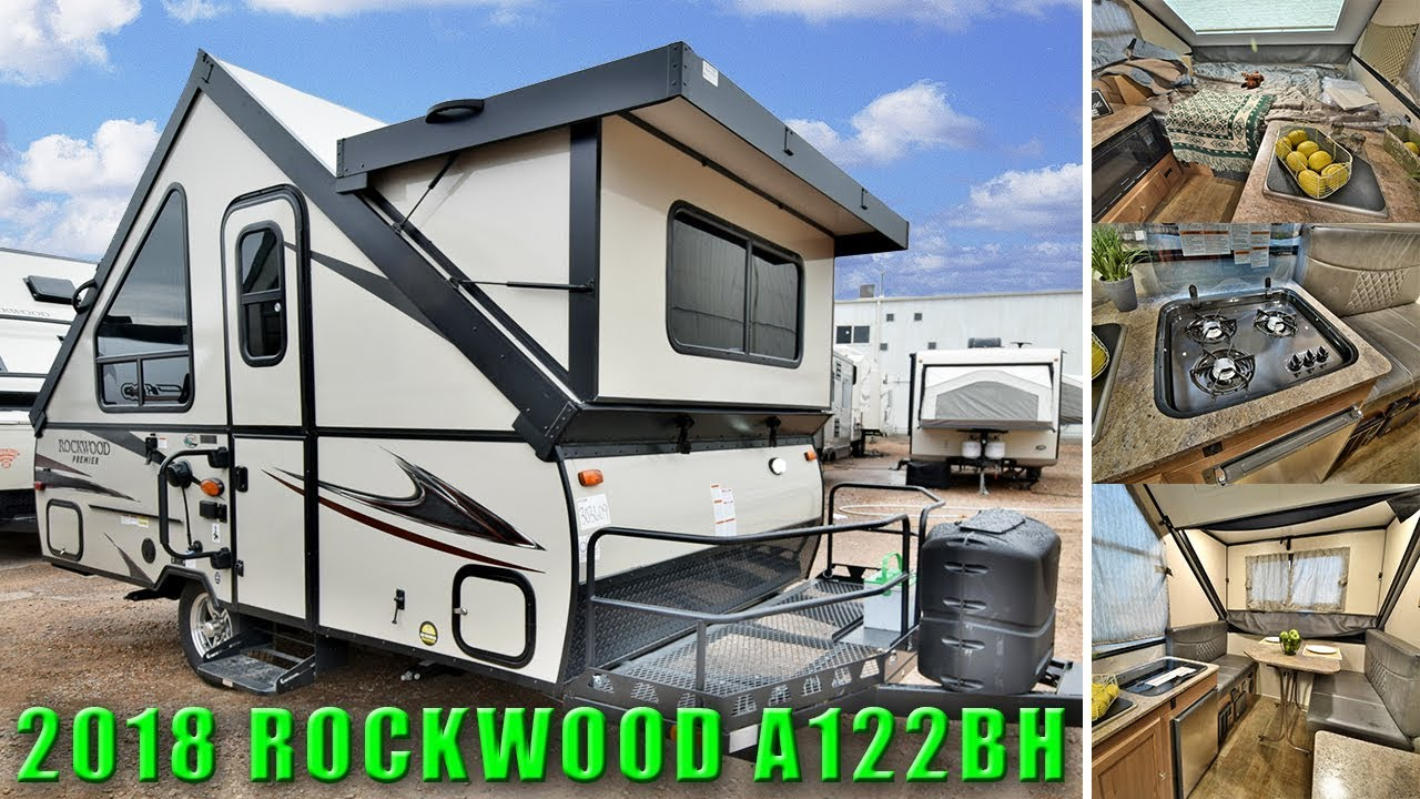 2018 Super Lite Weight A122bh Hard Sided A Frame Travel Trailer Rv Colorado