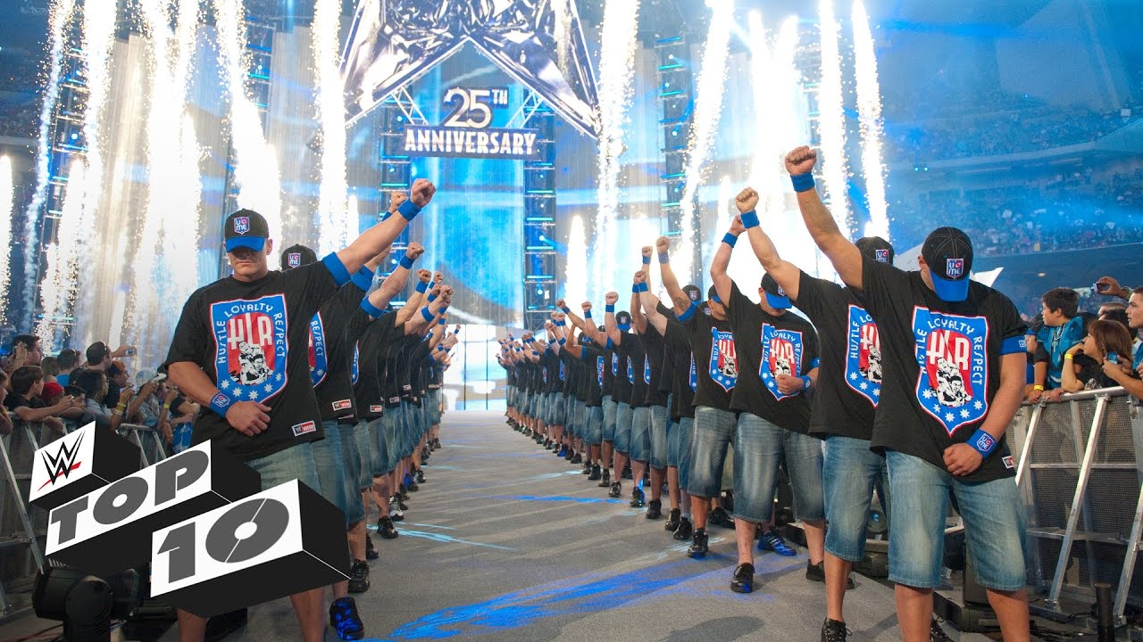 20 Greatest WrestleMania Entrances: WWE Top 10 Special