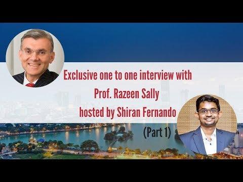 Prof. Razeen Sally: Sri Lanka Economy & Budget 2018 Part 1
