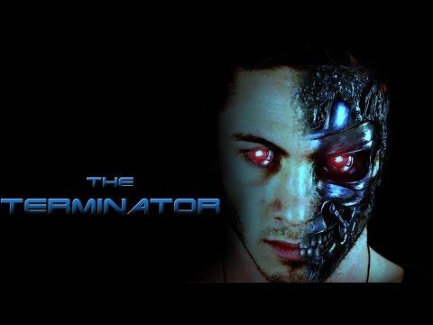 terminator poster photoshop manipulation tutorial