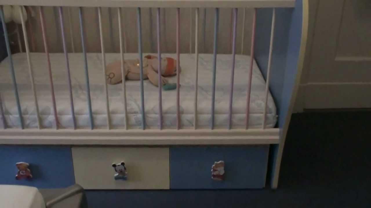 Disney luxus babybett mit schaukel wippfunktion youtube