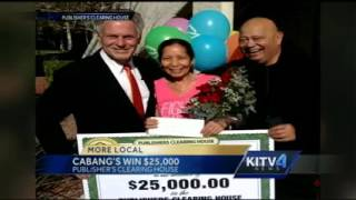 KITV came along to cover our $25,000 check winner! 3/10/2015 Video