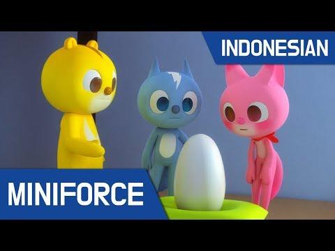 [Indonesian Dub.] MiniForce S1 EP 06 : Mini Force & Bayi Iguana