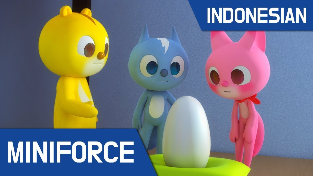 [Indonesian Dub ] MiniForce S1 EP 06 Mini Force & Bayi Iguana