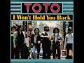 Toto I Won T Hold You Back LYRICS mp3