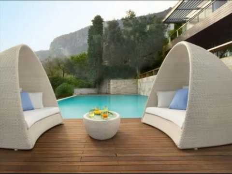 luxury garden furniture wooden design in uk