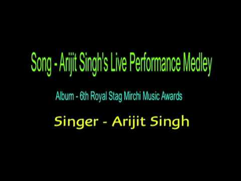 Karaoke Arijit Singh's Live Performance Karaoke 6th Royal Stag Mirchi Music Awards