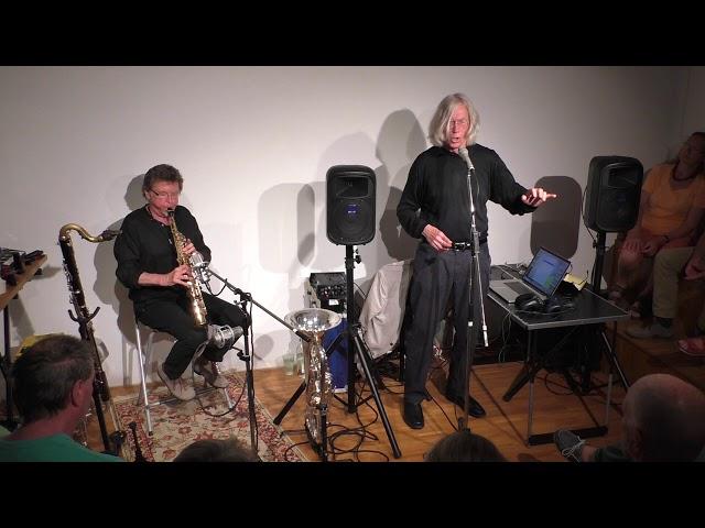 Jaap Blonk und Udo Schindler 84.Salon 5