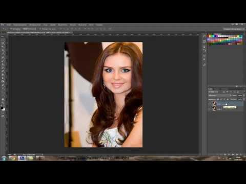 Устранение бликов от вспышки в фотошопе (retouch)