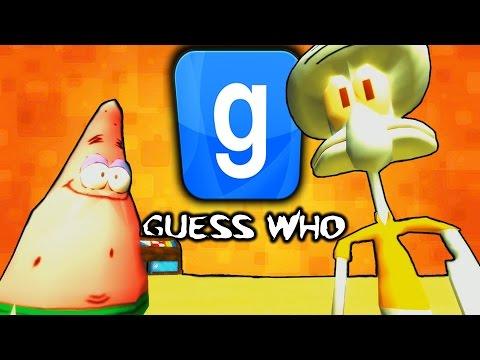 海綿寶寶特集 ! (下)『Garry's Mod: Guess Who』猜猜我是誰 ?