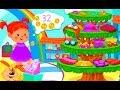 Number Videos for Kindergarten Kids - Izzie's Math Kids Game - Educational Video for Children