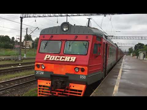Путешествие на электричках СПб - Оредеж - Луга - СПб