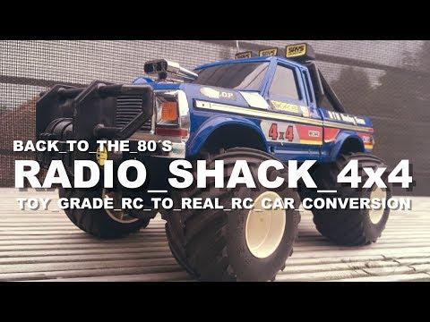 Radio Shack / Taiyo 4x4 Toy Grade RC to Real RC Conversion