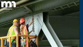 Winona Bridge Inspection June 2010