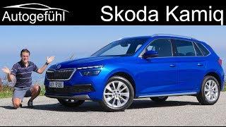 Skoda Kamiq FULL REVIEW new small SUV Style 1.0 TSI Dynamic - Autogefühl