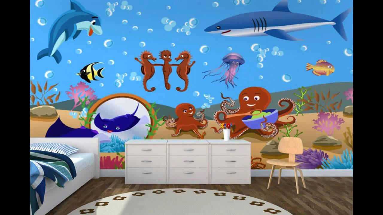 Popular Wallpaper For Childrens Room Decorating Ideas