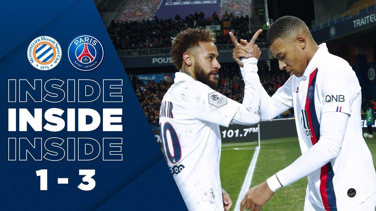 Inside Montpellier Vs Paris Saint Germain   Youtube