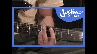 Basket Case - Greenday (Songs Guitar Lesson ST-311) How to play