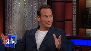 "Patrick Wilson Plays Guitar, Sings Some Elvis In ""The Conjuring 2"""