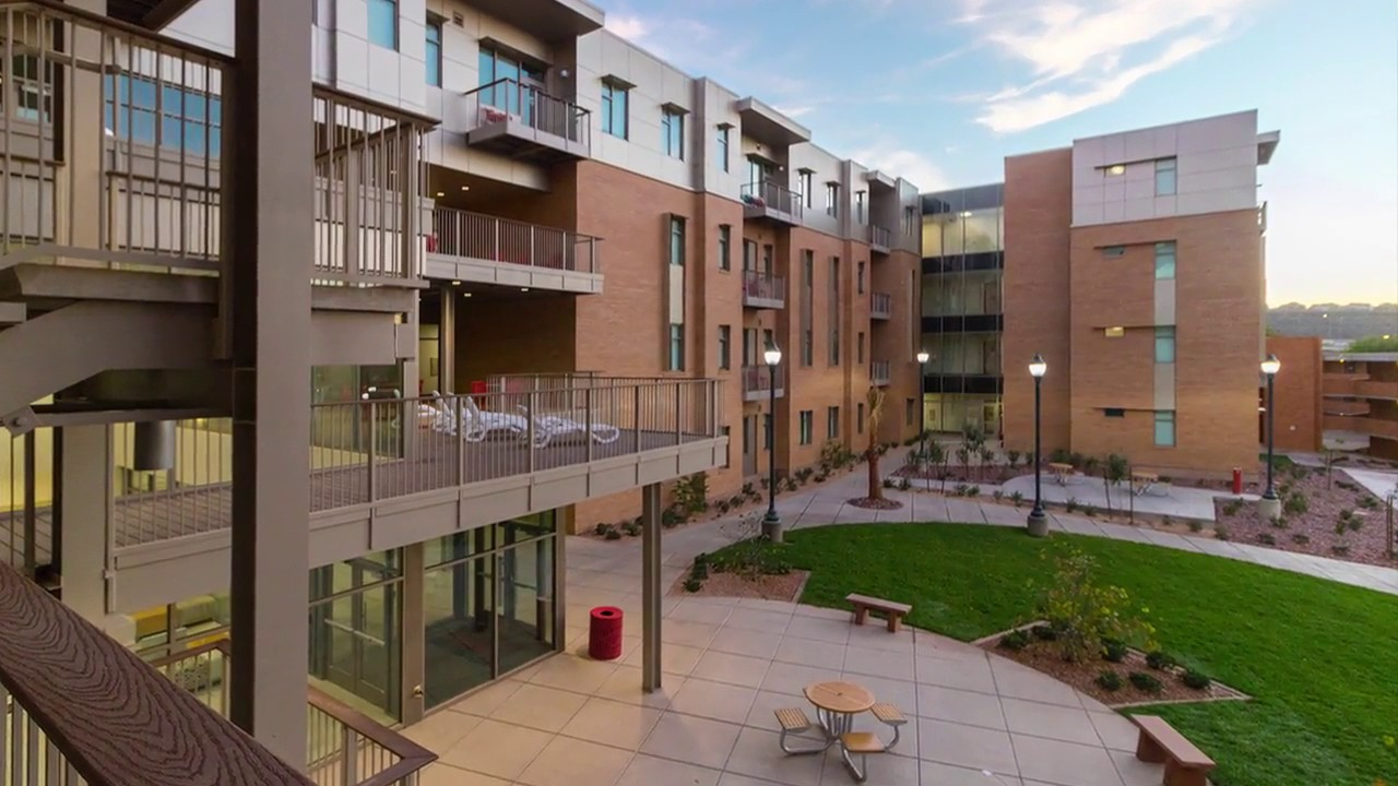 Dixie State University Campus Map on