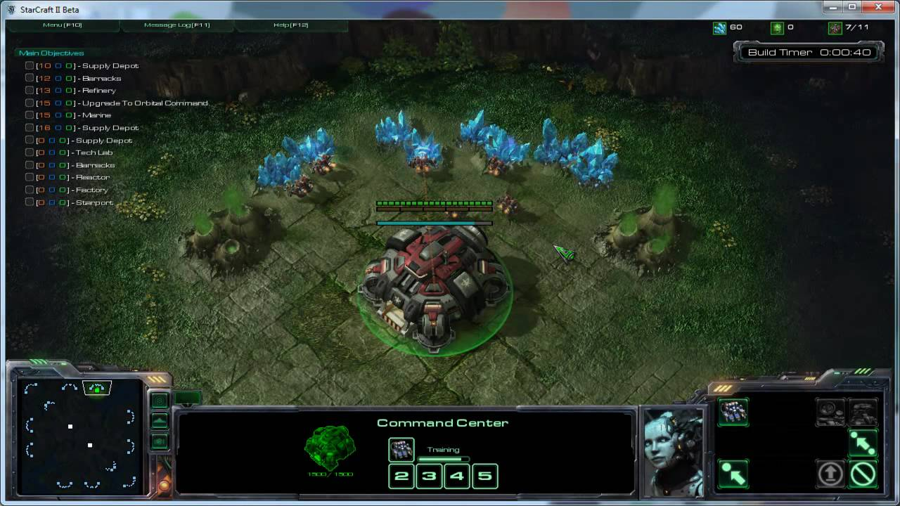 Yet Another Build Order Tester (YABOT) Starcraft 2 Custom Map