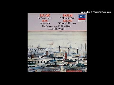 Gustav Holst : A Moorside Suite for brass band (1928)