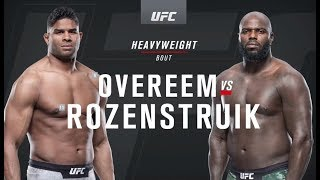 UFC on ESPN 7: Overeem vs. Rozenstruik Recap