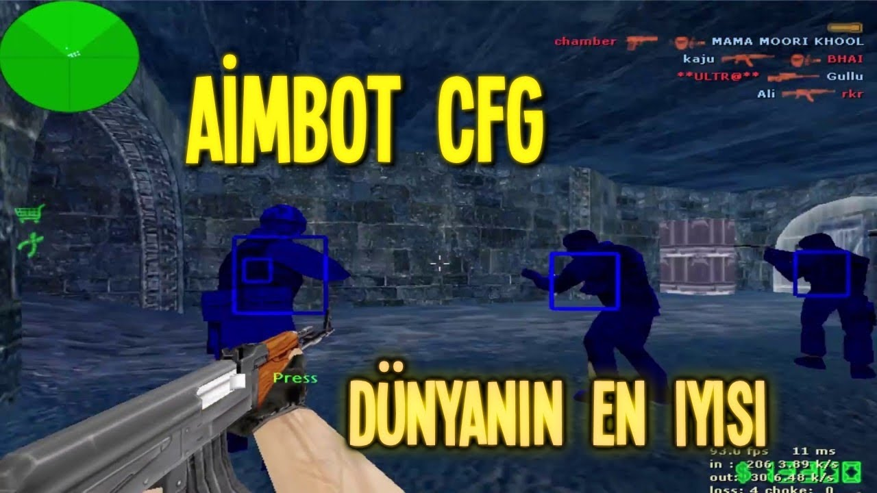 cfg counter strike 1.6 aimbot