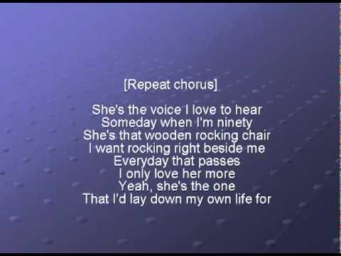 Brad Paisley - She's Everything I Wanted lyrics - YouTube