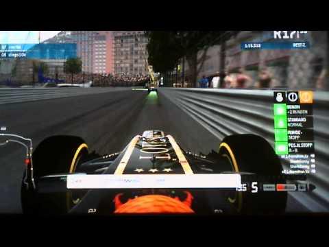 F1 Intern.League - Rennen in Monaco