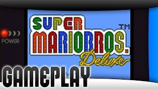Gameplay // Super Mario Bros. Deluxe [3DS Virtual Console]