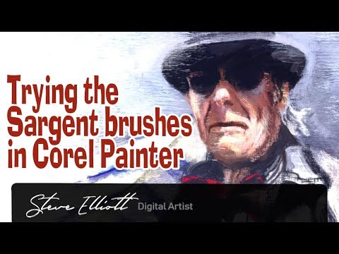 Painting A Portrait With The Sargent Brushes In Corel Painter