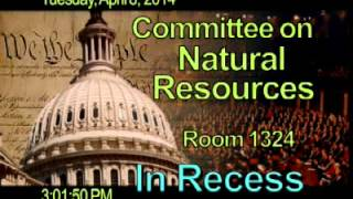 Fisheries, Wildlife, Oceans, and Insulars Affairs Hearing on CoBRA