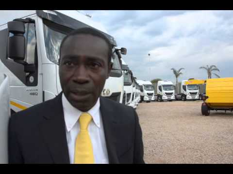 Samuel Afful Mensah, General Manager, Iveco South Africa Works, talks to Patrick O'Leary